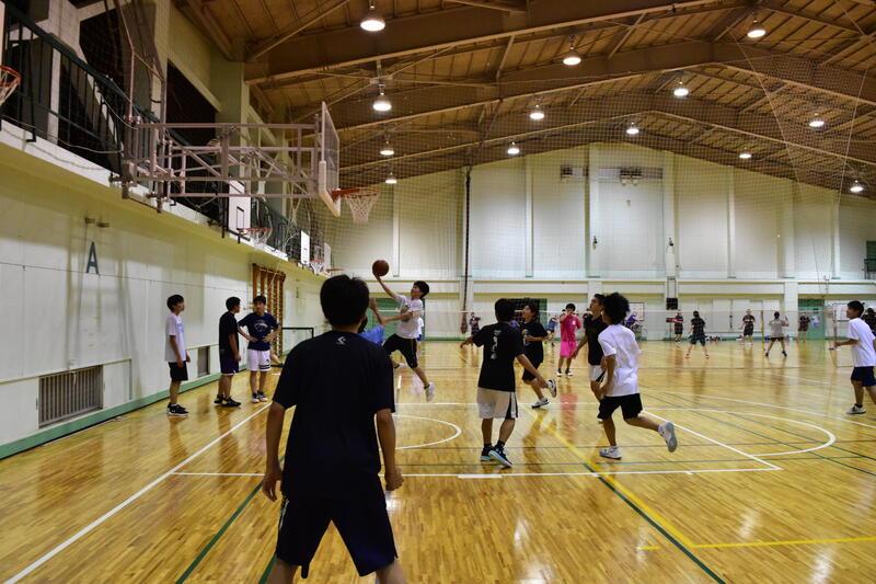 10月9日 バスケットボール部