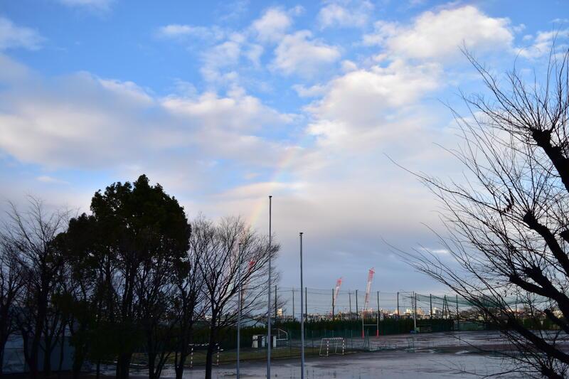 2月15日 虹